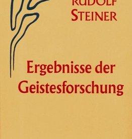 Rudolf Steiner, GA 62 Ergebnisse der Geistesforschung