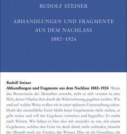Rudolf Steiner, GA 46, Nachgelassene Abhandlungen und Fragmente 1879-1924