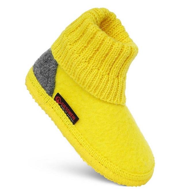 Giesswein Kramsach Kids kleur geel 126