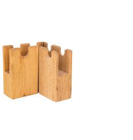 Ostheimer Ostheimer Kasteelmuur Verdedigings muur - 2-delig vormen hoek 90 graden
