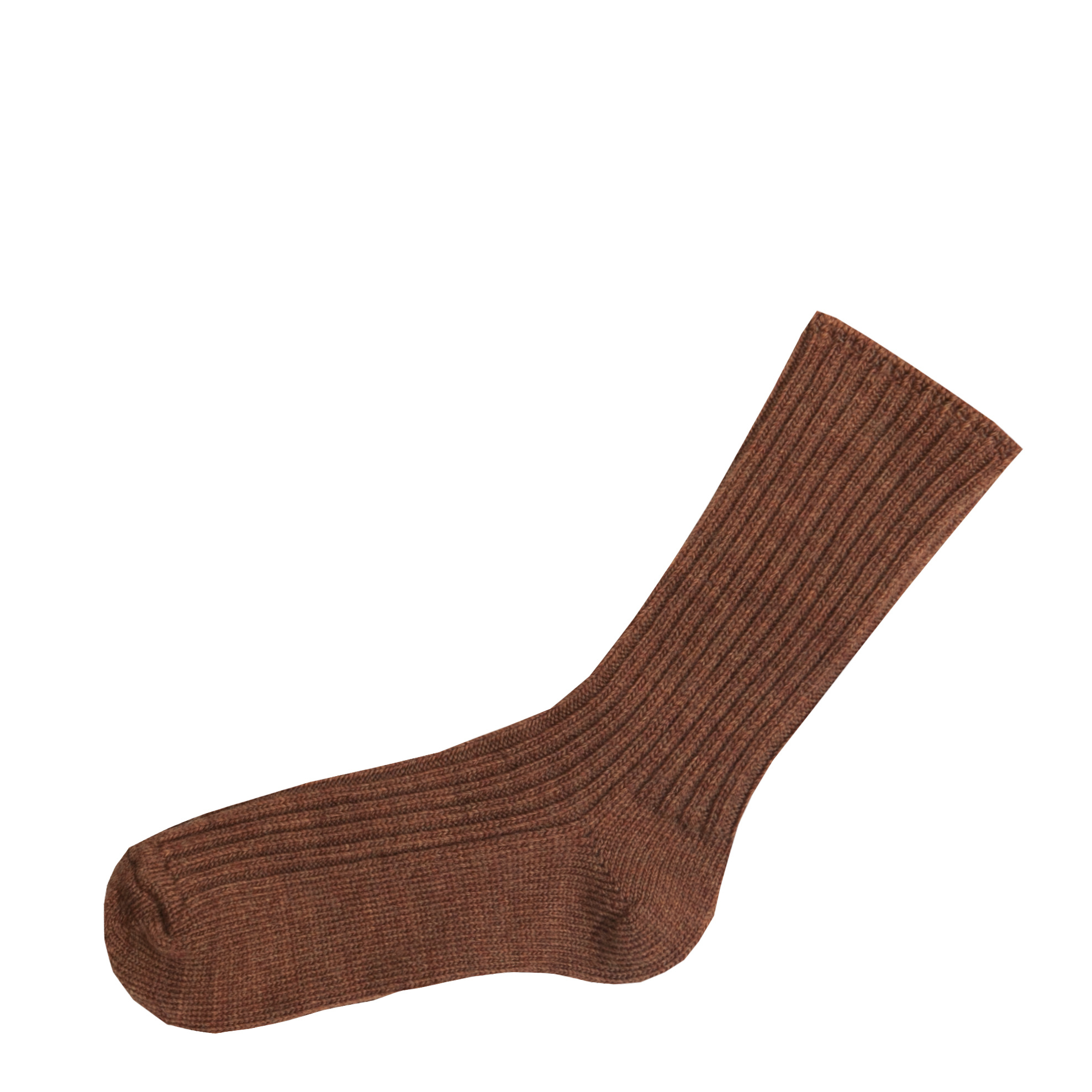 Joha Joha Wollen sokken - Koper melange (60014)