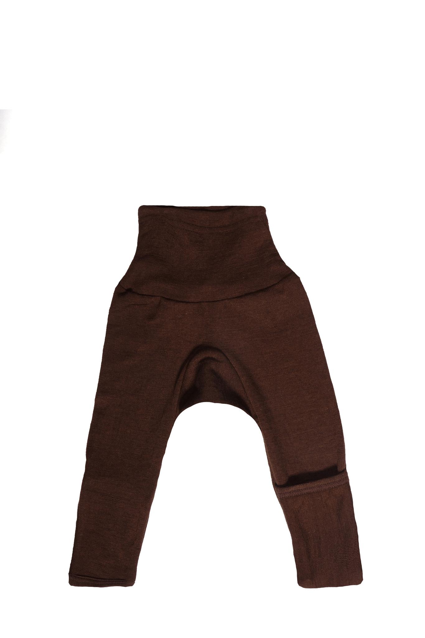 Cosilana Cosilana babylegging Wol/Zijde,  met omslag voor de voetjes - Groen (21)