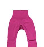 Cosilana Cosilana babylegging Wol/Zijde,  met omslag voor de voetjes - Roze (30)