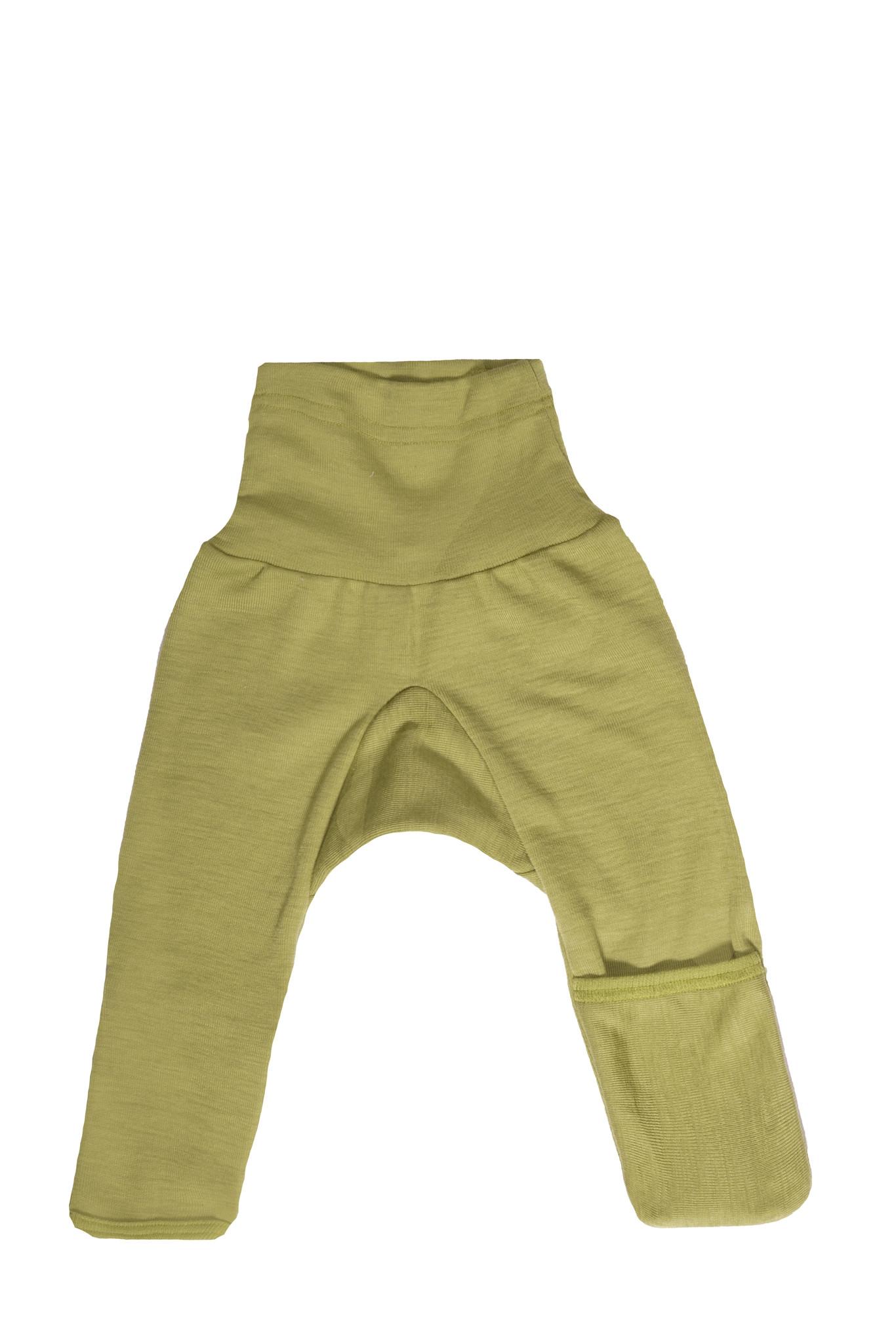 Cosilana Cosilana babylegging Wol/Zijde,  met omslag voor de voetjes - Marine (08)