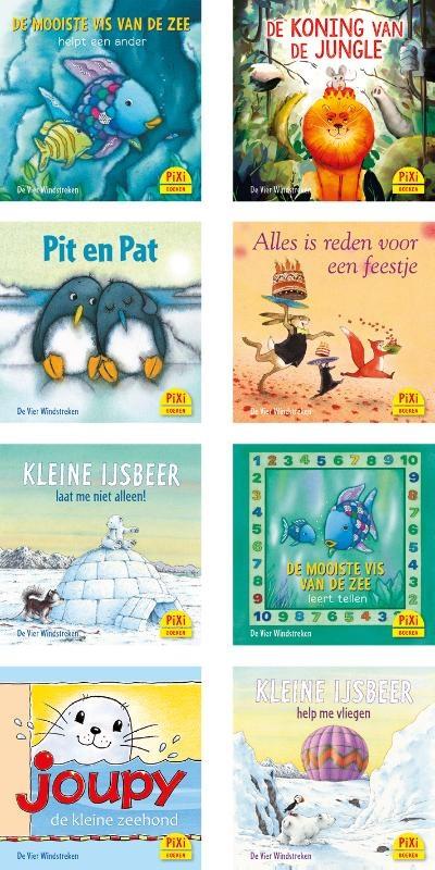 Pixi boekjes 12: De Vier Windstreken Toppers 8 boekjes