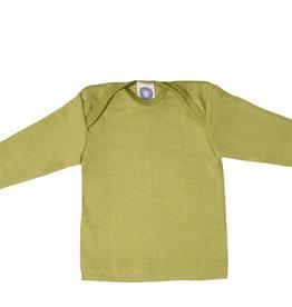 Cosilana Cosilana Babyhemdje Wol/Zijde lange mouw - Groen (21)