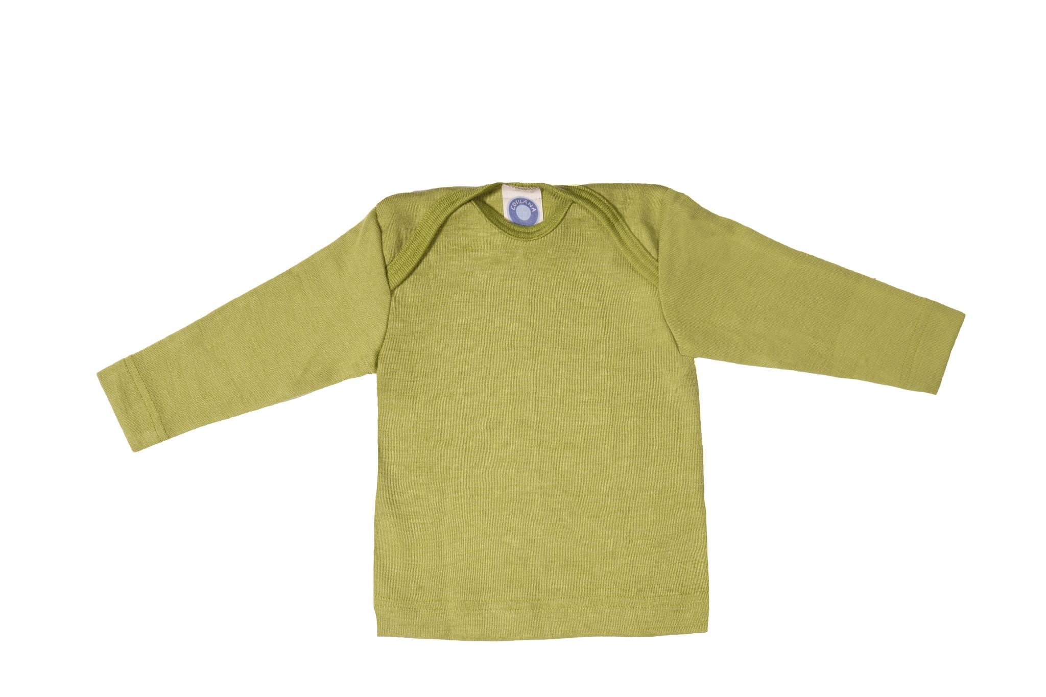 Cosilana Cosilana Babyhemdje Wol/Zijde lange mouw - Naturel (01)