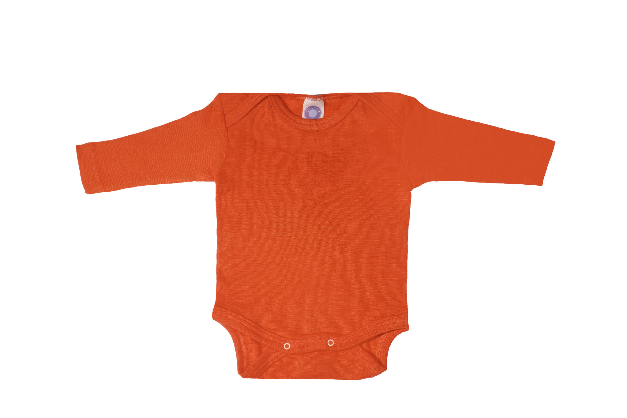 Cosilana Cosilana romper lange mouw Wol/zijde - Saffraan/Oranje (29)