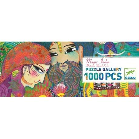 Djeco Gallerypuzzel - Magic India 1000pcx  9y+
