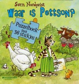 Sven Nordqvist, Waar is Pettson? Puzzelboek met 36 stukjes