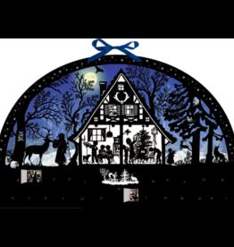 Adventskalender Huis in het bos