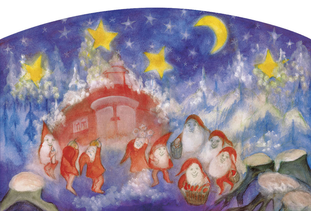 Adventkalender Waar de dwergen wonen A037