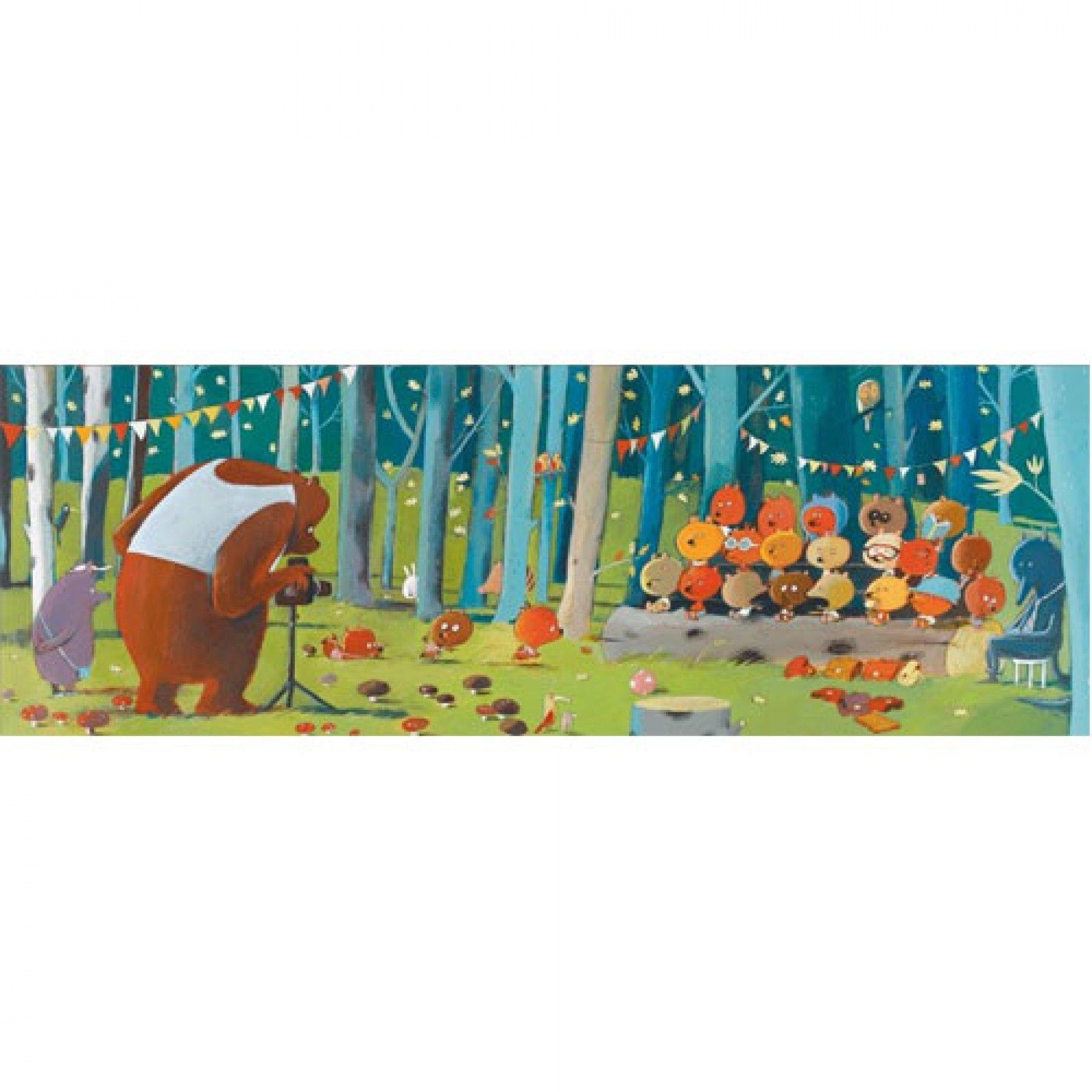 Djeco Djeco Gallerypuzzel - Forest Friends  100pcs 5y+