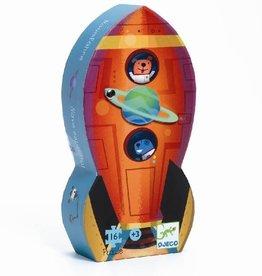 Djeco Djeco Puzzel - Ruimteschip - 16pcs 3y+