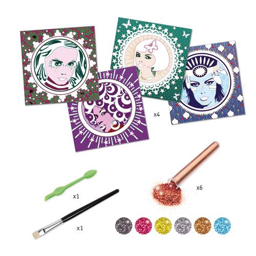 Djeco Djeco DIY Glitter Pop & Rock  - 9-15Y