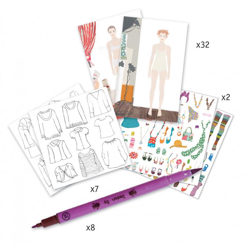 Djeco Djeco DIY Mode Atelier - 8-14Y