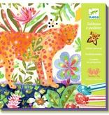 Djeco Djeco DIY Atelier Glitterzand - Tropico - 8-14Y