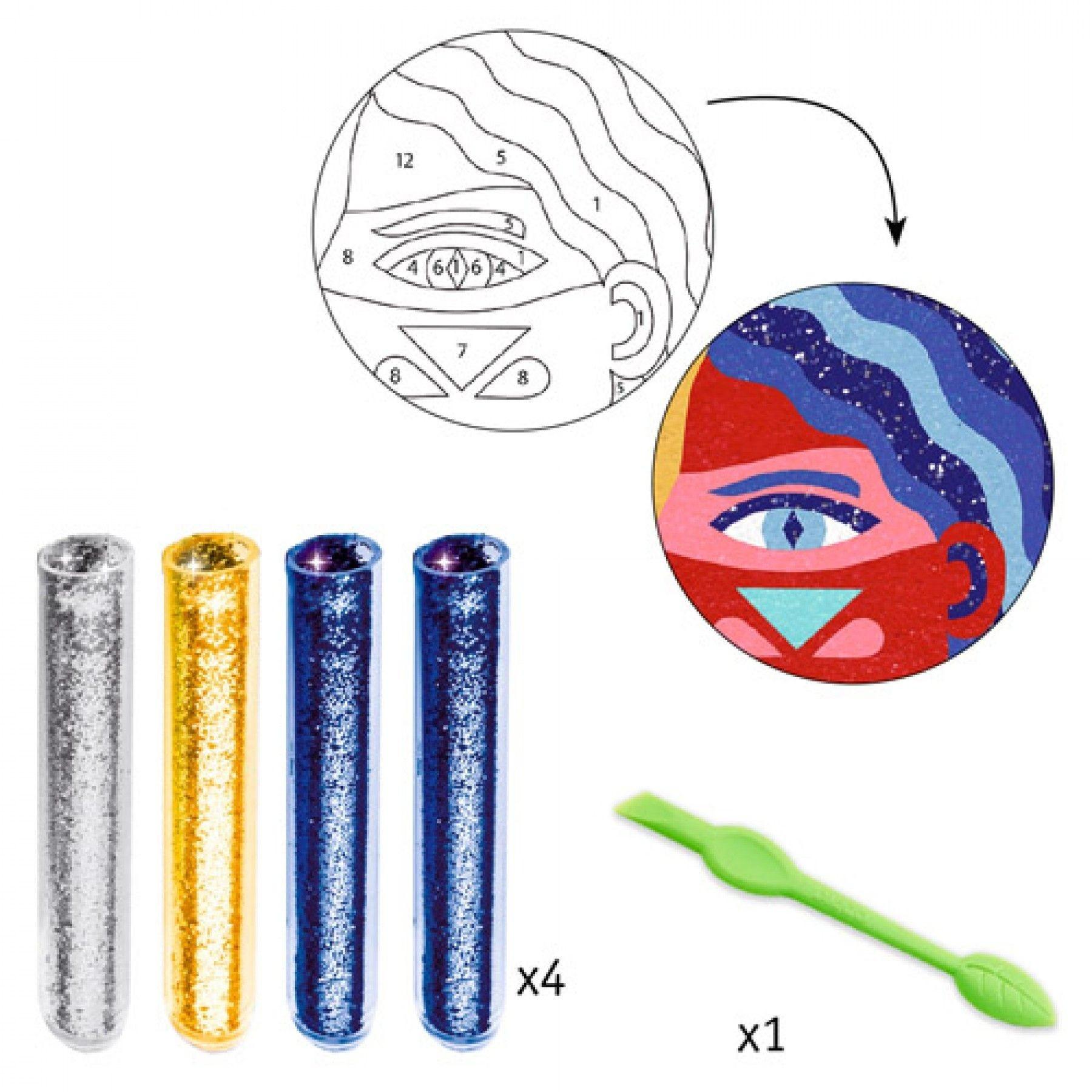 Djeco Djeco DIY Workshop Zand & Glitter - Totemdier 8-14Y