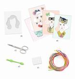 Djeco Djeco DIY  Knutselset Scoubidou - Kleurrijke lokken Meisje 7-13Y