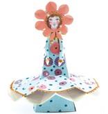 Djeco Djeco DIY  Papierkunst Miss Blossom - met Glitter - 7-13Y