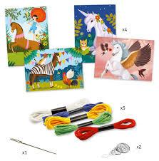 Djeco Djeco DIY  Workshop Borduursel - Sprookjes & Dromen - 7-13Y