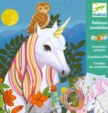 Djeco Djeco DIY  Knutselset Scoubidou - Kleurrijke manen Eenhoorn 7-13Y