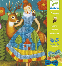 Djeco Djeco DIY  Workshop Borduren - Spansteek 6-11Y