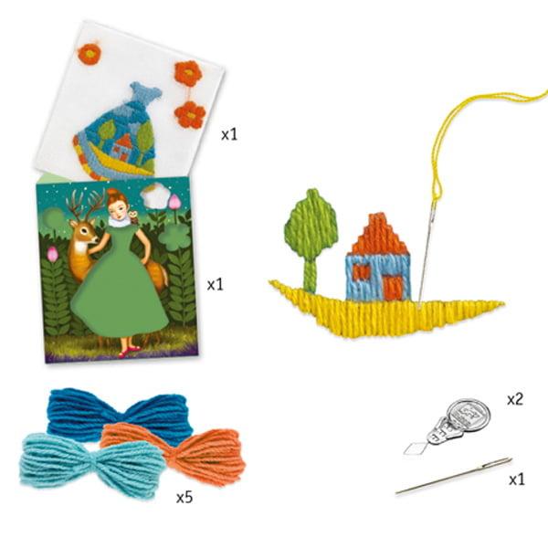 Djeco Djeco DIY  Workshop Borduren - Spansteek 6-11Y
