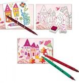 Djeco Djeco DIY Prinses, versieren en stempelen -  6-11Y