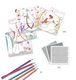 Djeco Djeco DIY Magische Kleurset -  Mijn mooie jurkjes -  6-10Y