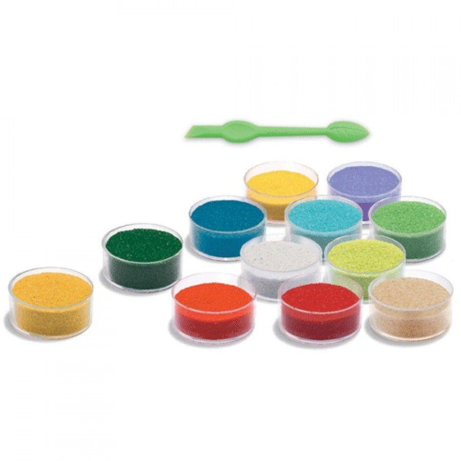 Djeco Djeco DIY Gekleurd zand - Panda en zijn vriendjes -  4-8Y