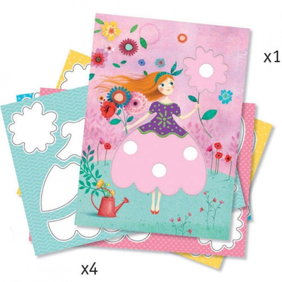 Djeco Djeco DIY Magische viltstiften - Maries mooie jurken -  3-6Y