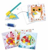 Djeco Djeco DIY Schilderen en Collages - Oh wat leuk! -  3-6Y