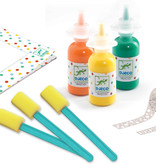 Djeco Djeco DIY Afplakken en Schilderen - Oh wat Magisch 3-6Y