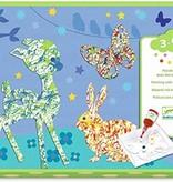 Djeco Djeco DIY Schilderen met knikkers - Kleurrijke parade 3-6Y