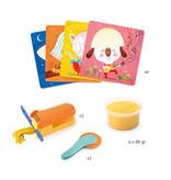 Djeco Djeco DIY Kinderklei - Krullend en recht haar - 3-6Y