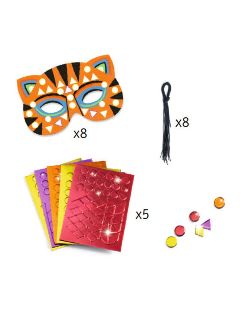 Djeco Djeco DIY Maskers - Jungledieren  4+