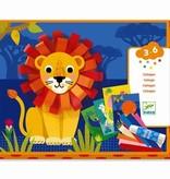 Djeco Djeco DIY Collage - Met papieren krullen - 3-6Y