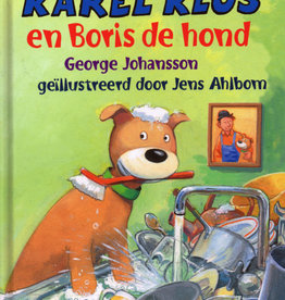 George Johansson en Jens Ahlbom, Karel Klus en Boris de hond