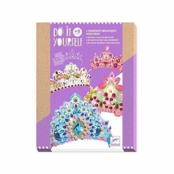 Djeco Djeco DIY Prinses Diadeem - om zelf te versieren - 5Y