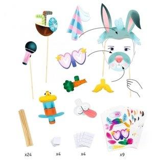 Djeco Djeco DIY Photobooth - Beestenselfies - 4-8Y