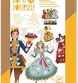 Djeco Djeco DIY Marionette - Assepoester - 5+