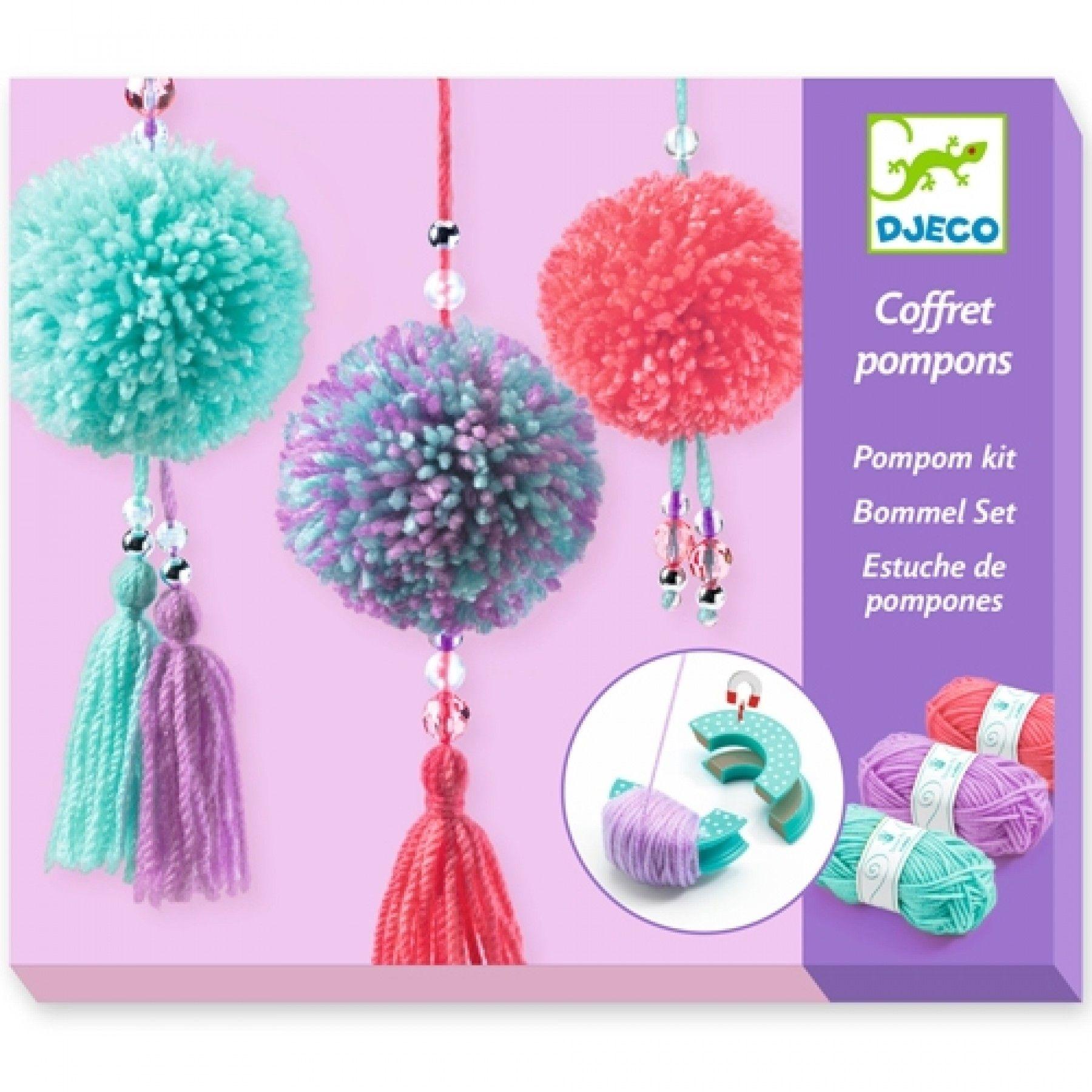 Djeco Djeco DIY Pompon kit  7-13Y