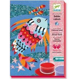 Djeco Djeco DIY Glitterschilderijen - Dieren met glittertjes -  7-13Y