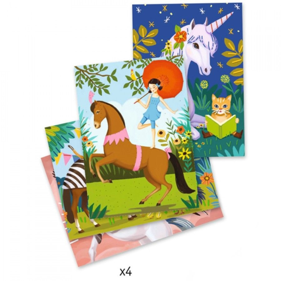 Djeco Djeco DIY Borduursel - Sprookjes en Dromen 7-13Y