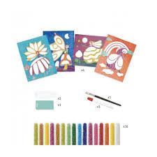 Djeco Djeco DIY Kralenschilderijen - Sprookjeswereld 7-13Y