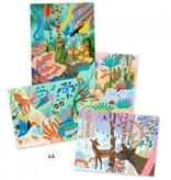 Djeco Djeco DIY Waterverf - Kunst op nummer - Natural World 7-13Y