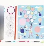 Djeco Djeco DIY Spiralen - Blok met 10 thema's 7-13Y