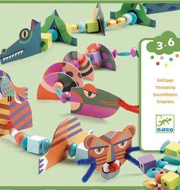Djeco Djeco DIY Rijgen - Mijn eigen dieren 3-6Y