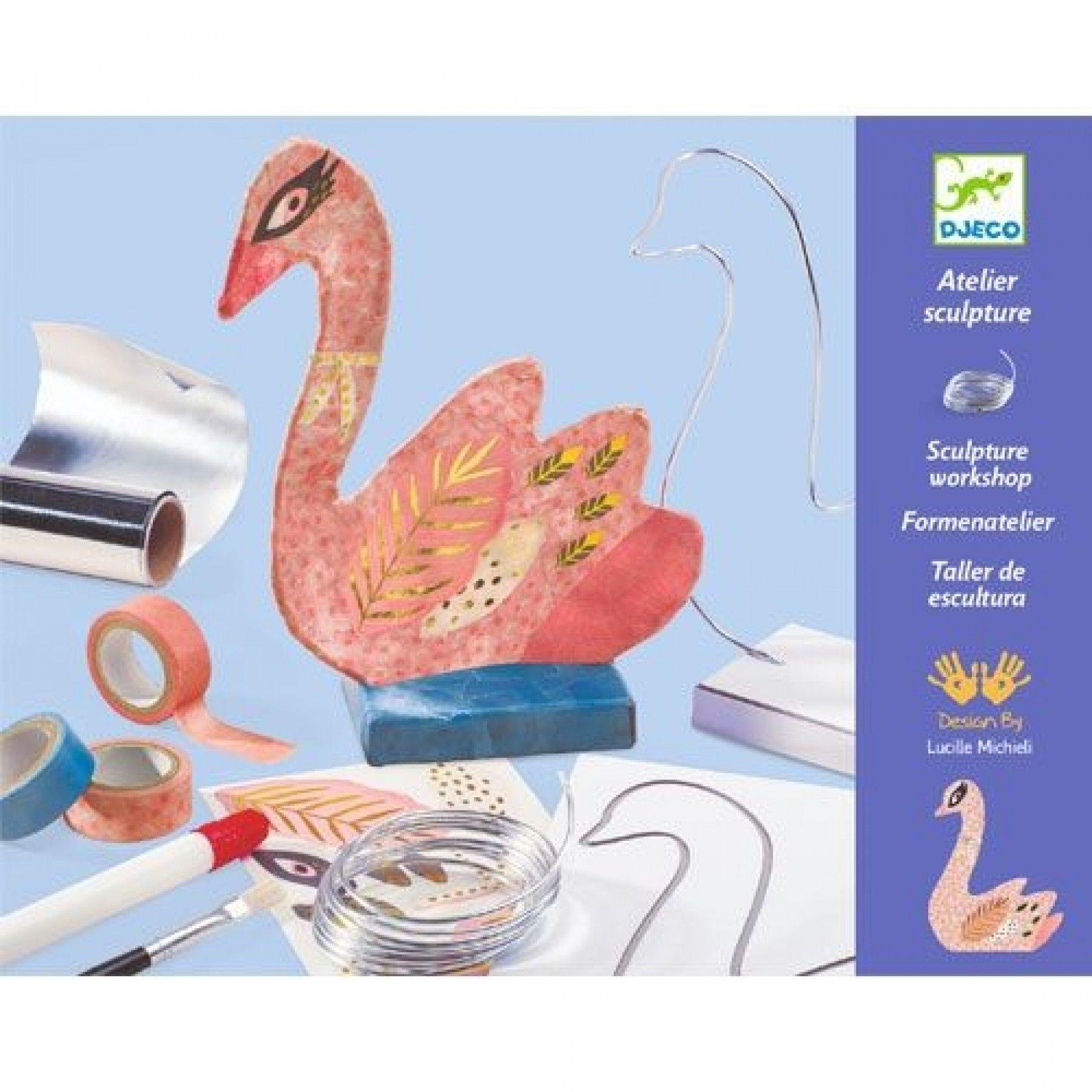 Djeco Djeco DIY Sculpture workshop - De Zwaan 8-14Y